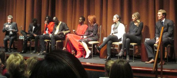 The Good Lie discussion moderated by PEN American Center president Peter Godwin