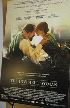 The Invisible Woman US poster