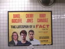 "Matt Tyrnauer on seeing The Lifespan Of A Fact starring Daniel Radcliffe, Cherry Jones and Bobby Cannavale at Studio 54: ""It was really weird for me to be in there."""