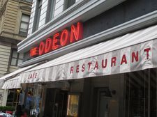 The Odeon on West Broadway in Tribeca