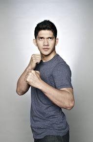Iko Uwais ready for a fist-fight