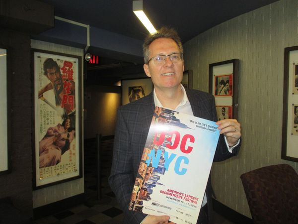DOC NYC Artistic Director Thom Powers at the IFC Center