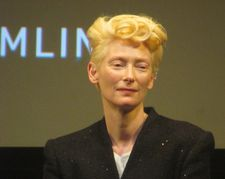 "Tilda Swinton: ""Lots of the clothes for both Honor [as Julie] and for Rosalind are the real McCoy. Joanna and I were just talking before the screening about raiding our long undiscovered attic."""