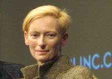 Tilda Swinton at the 54th New York Film Festival press conference for Jim Jarmusch's Only Lovers Left Alive