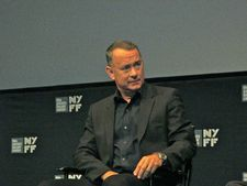 "Tom Hanks ""is very passionate about the typewriters. He says in the film how he likes to write on them every day."""