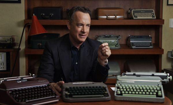 "Tom Hanks in California Typewriter: ""I probably have 250 plus typewriters in my collection."""