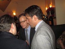 Tom McCarthy with Win Win and The Station Agent star Bobby Cannavale