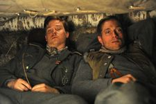 Tom Schilling and Volker Bruch as Friedhelm and Wilhelm Winter