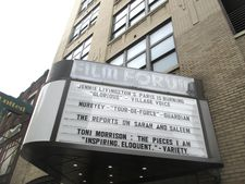 Toni Morrison: The Pieces I Am on the Film Forum marquee