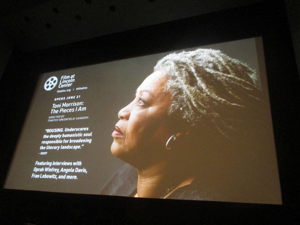 "Timothy Greenfield-Sanders on direct-to-camera for Toni Morrison: The Pieces I Am: ""It really conveys how much Toni is controlling the narrative."""