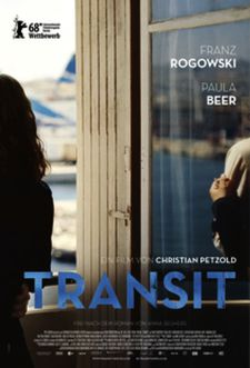 Transit poster - sneak preview on November 30 at the Film Society of Lincoln Center