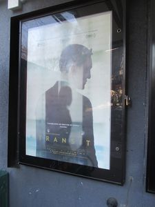 Transit poster at the IFC Center in New York