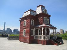 Cornelia Parker's Transitional Object (PsychoBarn)