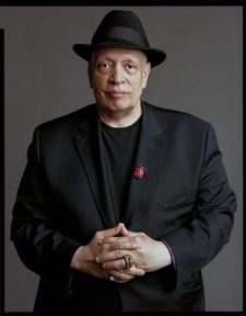 "Timothy Greenfield-Sanders on Walter Mosley: ""He wore a hat, he had a ladybug - you know, people think about how they're going to present themselves on camera."""