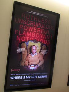 Where's My Roy Cohn? poster at Sony Pictures Classics