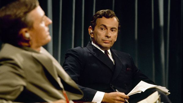 William F. Buckley Jr. and Gore Vidal in Robert Gordon and Morgan Neville's Best of Enemies: