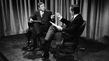 "William F. Buckley Jr. and Gore Vidal: ""You could look at it as a fight. A heavyweight fight boxing match or as a dance."""