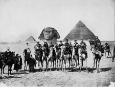 Gertrude Bell bookended by Winston Churchill and TE Lawrence