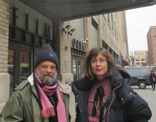 Wolfgang Fischer with Susanne Wolff in New York
