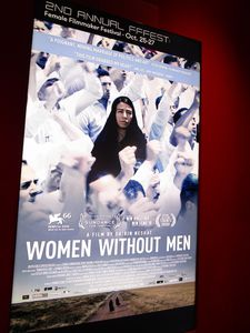 Women Without Men poster at the Quad Cinema