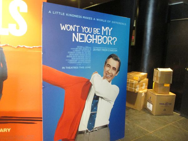 Morgan Neville's Won't You Be My Neighbor? on the legacy of Fred Rogers at the Angelika Film Center