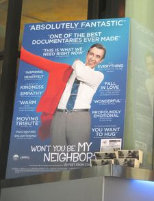 Won't You Be My Neighbor? poster in New York