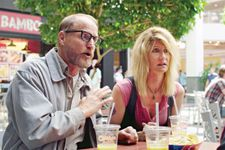Wilson (Woody Harrelson) and Pippi (Laura Dern)