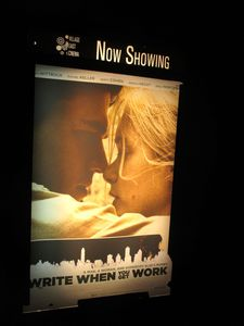 Write When You Get Work poster at Village East Cinema