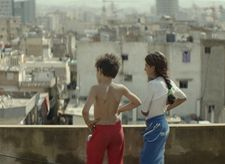 Zain with his sister Sahar (Cedra Izam) overlooking Beirut