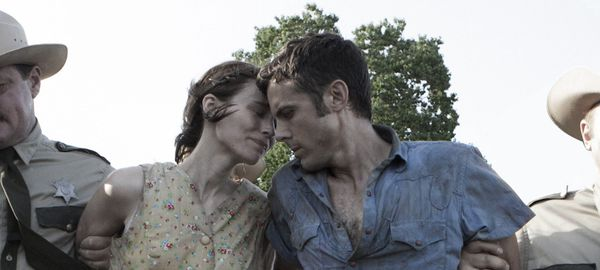 Rooney Mara and Casey Affleck as Ruth and Bob in David Lowery's Ain't Them Bodies Saints. Lowery: 'I wanted the characters to really feel as if they could have been alive at any time.'