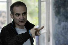 Olivier Assayas on the set of Something In The Air