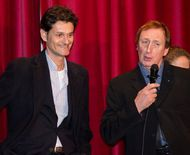 Astérix and Obélix In Britain gala screening - Grégoire Vigneron and Richard Mowe - photo by Dawn Marie Jones