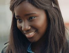 Karidja Touré - nominated for a Best Acting Newcomer award in the César awards