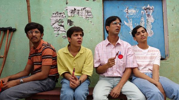 Chaitanya Varad, Shashank Arora, Tanmay Dhanania and Vaiswath Shankar in Brahman Naman - when Bangalore University's misfit quiz team manages to get into the national championships, they make an alcohol-fuelled, cross-country journey to the competition, determined to defeat their arch-rivals from Calcutta while all desperately trying to lose their virginity.