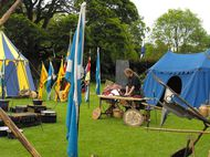 Tents at Brave Edinburgh launch - photo by Amber Wilkinson