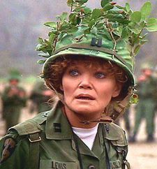 Eileen Brennan as Captain Doreen Lewis in Warner Bros film Private Benjamin