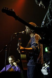 King Creosote in action