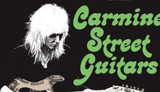 Carmine Street Guitars poster - opens at Film Forum in New York on April 24