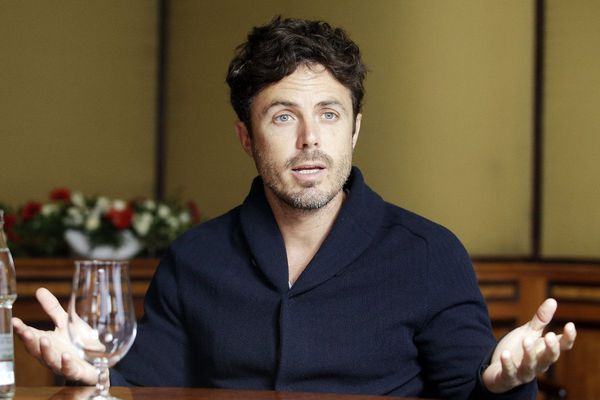 """[David Lowery]  hires me so that makes me keep coming back!"" - Casey Affleck"