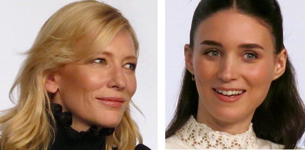 Cate Blanchett and Rooney Mara in Cannes