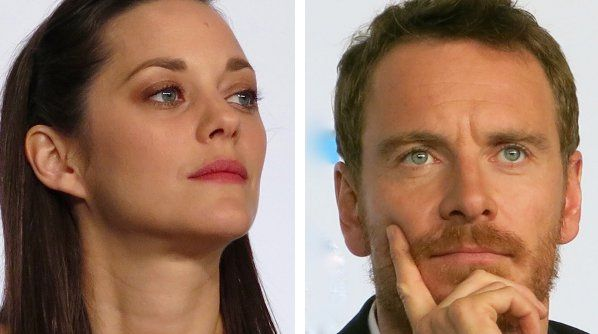 Marion Cotillard and Michael Fassbender in Cannes for Macbeth.