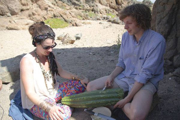 Gaby Hoffman and Michael Cera in Crystal Fairy
