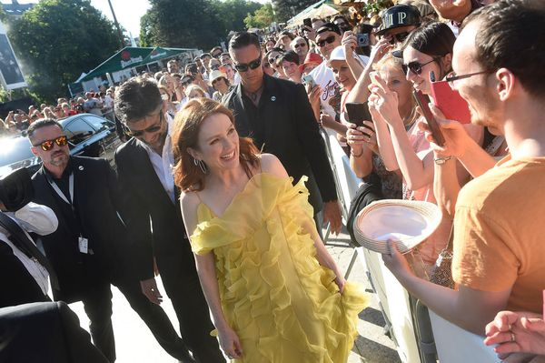 Julianne Moore and Bart Freundlich meet the Karlovy Vary crowds