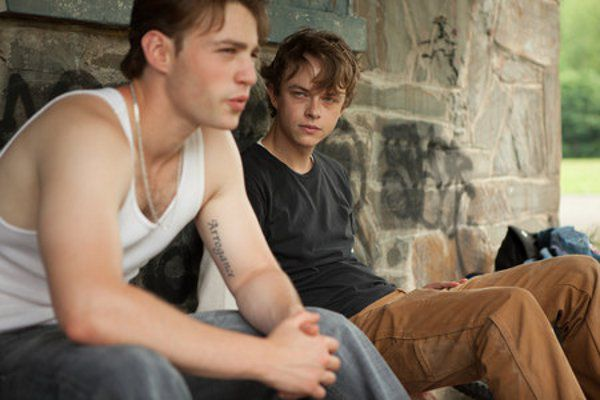 Emory Cohen as AJ and Dane DeHaan as Jason in The Place Beyond The Pines