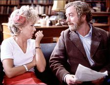 Julie Walters with Michael Caine in Educating Rita.
