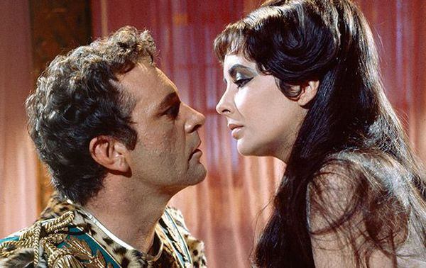 Richard Burton and Elizabeth Taylor in Cleopatra - part of the Dream Teams strand