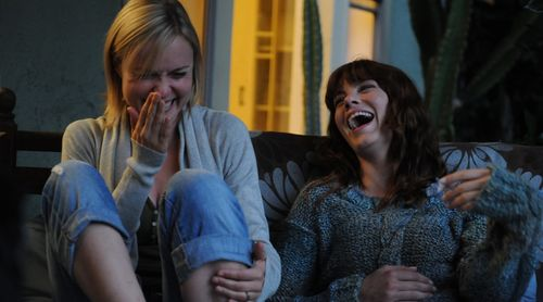 Radha Mitchell and Michelle Monaghan in Expecting.