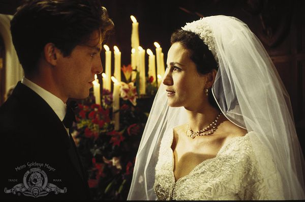 Hugh Grant and Andy MacDowell in Four Weddings And A Funeral. Mike Newell: 'They were all so gorgeous when they were young'