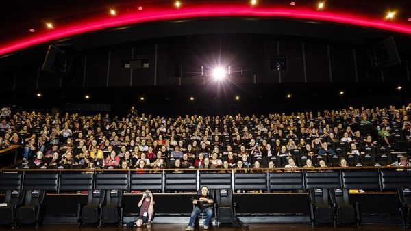 A Frightfest audience in pre-lockdown times