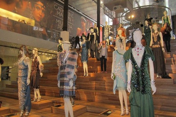Some of the fabulous costumes that feature in Baz Luhrmann's Cannes opener The Great Gatsby
